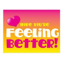 Hopp är du känslig förbättrar! få väl vykort