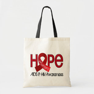 Hopp betyder 2 AIDS Tygkasse