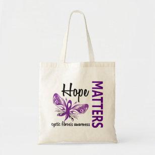 Hopp betyder Cystic Fibrosis för fjäril Tygkasse