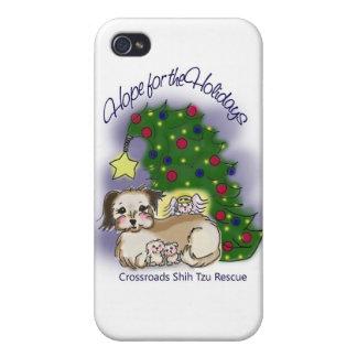 Hopp för helgdagar iPhone 4 cover