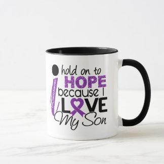 Hopp för min Cystic Fibrosis för Son Mugg