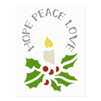 Hopp, fred, Minimalist järnek för kärlek och Vykort