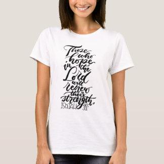 Hopp i lorden Borsta Skriva T-shirt