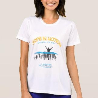 Hopp i rörelse tee shirts