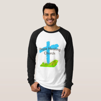 Hopp som läker den kyrkliga kristna inspirera t-shirts