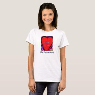 Hopp som läker kyrkan älskar jag, Jesus kvinna T Shirt