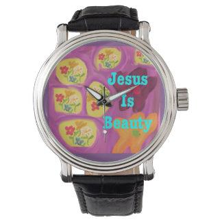 Hopp som läker kyrkliga Jesus, är Armbandsur