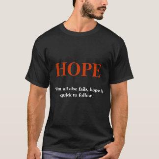 HOPP svart Tee Shirt