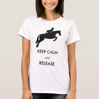 Hoppa - behållalugn och frigörare t-shirt