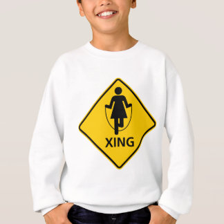 Hopprepkorsningen huvudväg undertecknar tee shirts