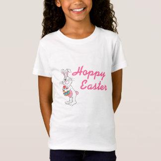 Hoppy påskhare - anpassadeT-tröja T Shirts