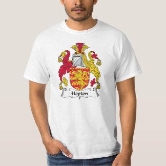 Hopton familjvapensköld t-shirt