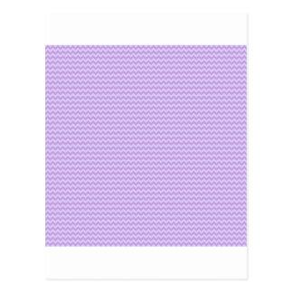Horisontalsicksack - wisteria- och bleklavendel vykort