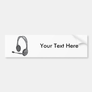 Hörlurar - hörlurar - ljudsignala hörlurar med bildekal