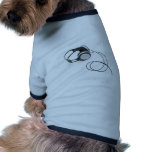 Hörlurar Hund Tshirt