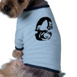 Hörlurar - husmusik hund t-shirts