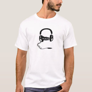 HörlurarKopfhörer audio vinkar Electro Elektro Mu T-shirt