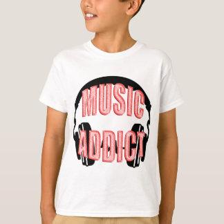 Hörlurarmusikknarkare Tee Shirt