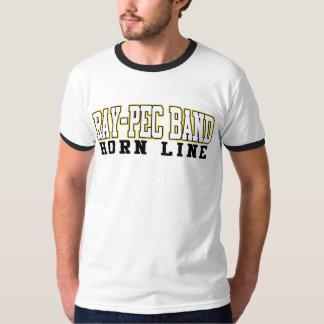 Hornen för musikbandet Stråle-Pec fodrar skjortan Tee Shirt