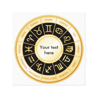 HoroskopMandala Canvastryck