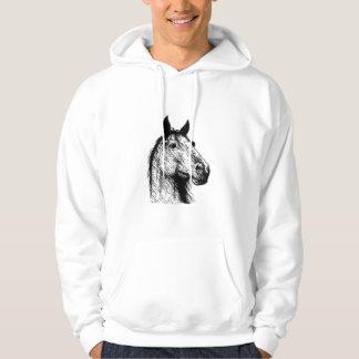 Horsehead ritar teckningen sweatshirt