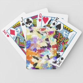 Höst färger spelkort
