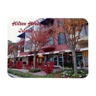Höst i Hilton Head Island - hamntownen shoppar Magnet