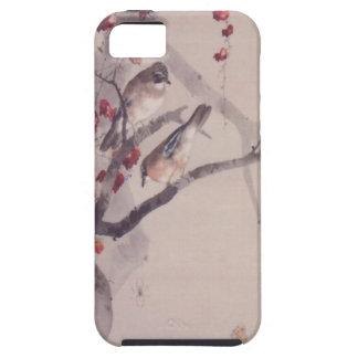 Höst Jays på japansk murgröna iPhone 5 Case-Mate Skal