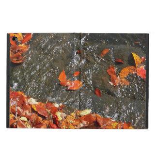 Höst löv i vattenfall mig höstfotografi powis iPad air 2 skal