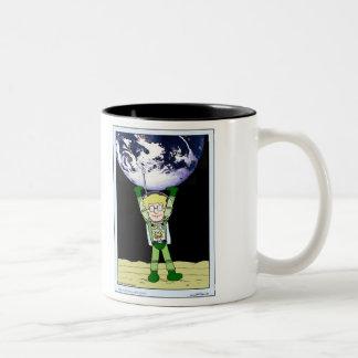 """Höst mugg för kaffe """"för Lunar kartbok"""" för sjö"""