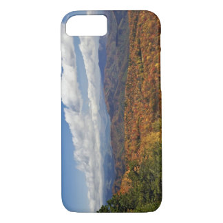 Hösten beskådar av sydliga Appalachian berg