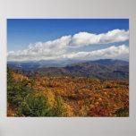 Hösten beskådar av sydliga Appalachian berg Affischer