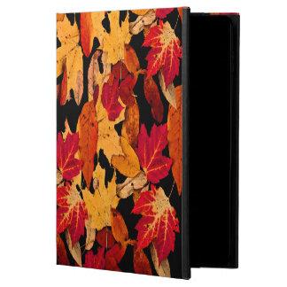 Höstlövverk i röd orangegultbrunt powis iPad air 2 skal