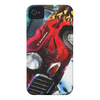 Hot rod Chevy Case-Mate iPhone 4 Fodral
