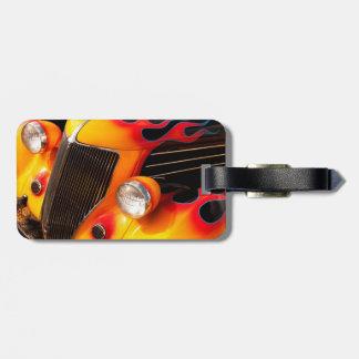 Hot rod flammar bagagebricka