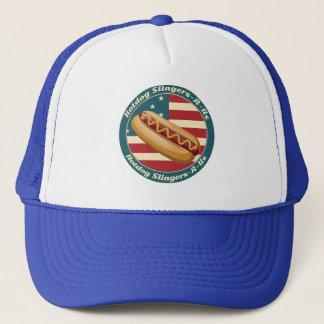Hotdog Slingers-R-oss lastbilsförarehatt Keps