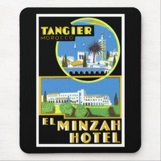 Hotell~ Tangier för El Minzah Mus Mattor