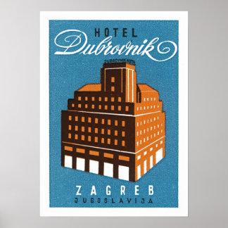 HotellDubrovnik ~ Zagred Poster