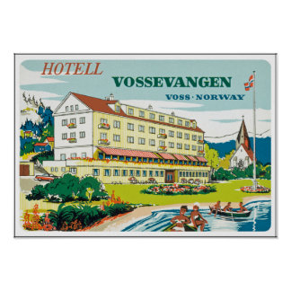 HotellVossevangen norge Posters