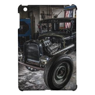 Hotrod i ett fodral för garageiPadkortkort iPad Mini Fodral