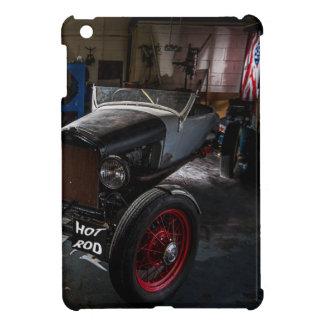 Hotrod i ett fodral för garageiPadkortkort iPad Mini Mobil Fodral