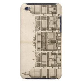 Houghton Hall: dela upp av väster beklär, inristat iPod Touch Fodral