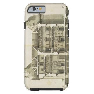 Houghton Hall: tvärsnitt av Hallen och salongen Tough iPhone 6 Case