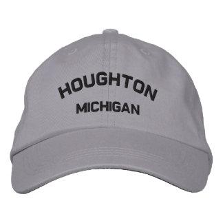 Houghton Michigan broderat lock Broderad Keps