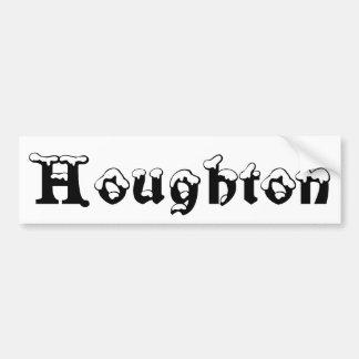 Houghton Michigan snöbildekal Bildekal