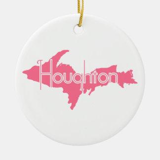 Houghton Michigan Upperpeninsula Julgransprydnad Keramik
