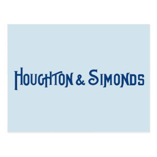 Houghton & Simonds vykort