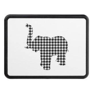 Houndstooth elefant skydd för dragkrok
