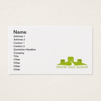 house-sale-or-construction-logo1 namn, adress… visitkort