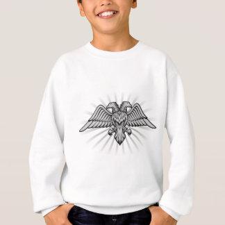 Hövdad örn två t-shirts